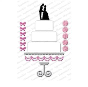 Impression Obsession  Dies - Wedding Cake