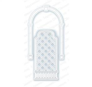 Impression Obsession Dies - Arch and Trellis