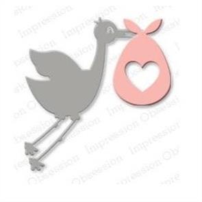 Impression Obsession  Dies - Stork