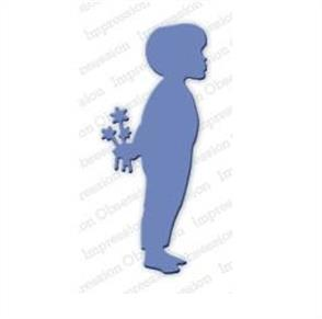 Impression Obsession Dies - Boy with Flowers
