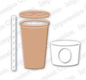 Impression Obsession  Dies - Takeout Coffee