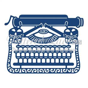 Tattered Lace  Dies - Old Fashioned Typewriter