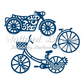 Tattered Lace  Dies - His Transport Embellishments