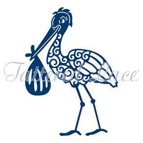 Tattered Lace  Dies - Stork