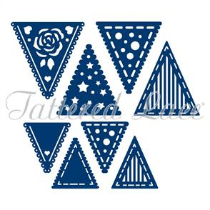 Tattered Lace  Dies - Decorative Bunting