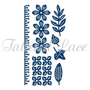 Tattered Lace  Dies - Botanical Blooms