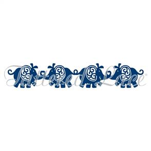 Tattered Lace Dies - Baby Elephant Border