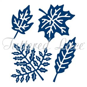 Tattered Lace  Dies - Botanical Leaves