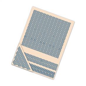 Tattered Lace  Embossing Folder Geometric - 4/pack