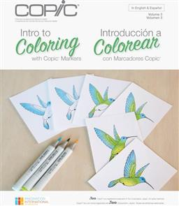 Copic Colouring Foundations - Colouring with
