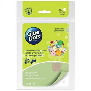 Glue Dots Clear Dot Sheets 252/pkg
