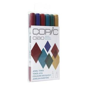 Copic Ciao Markers - Jewel Tones Set