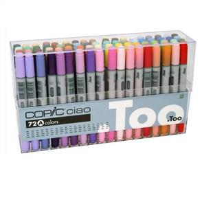 Copic  Ciao Markers -  Set 72A