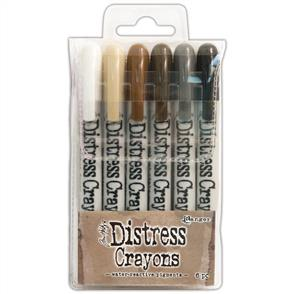 Ranger Ink Tim Holtz Distress Crayon Set #3