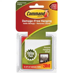 3M Command - Medium Picture Hanging Strips