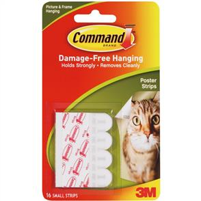 3M Command - Poster Strips 12/pk