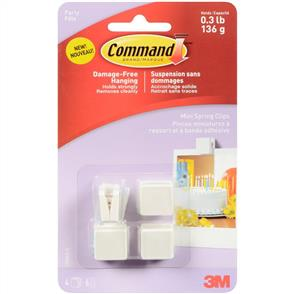 3M  Command - Mini Spring Clips