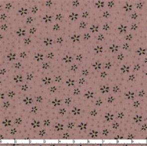 Lecien  Mending Fences - Small Flowers Dark Peach