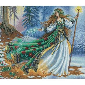 Dimensions  Woodland Enchantress - Gold Collection Cross Stitch Kit
