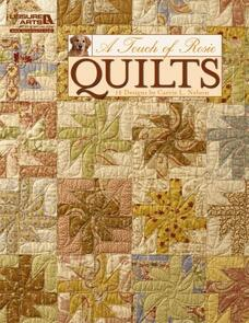 Leisure Arts  A Touch Of Rosie Quilts