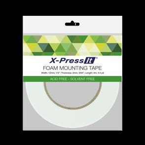X-Press It Foam Mounting Tape - 12mm x 4m