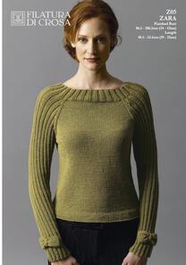 Filatura Di Crosa  Bow Trim long Sleeve Pullover