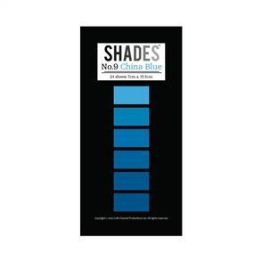 Shades Mini Paper Pad - China Blue