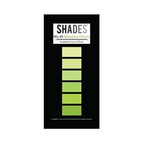 Shades Mini Paper Pad - Meadow Green