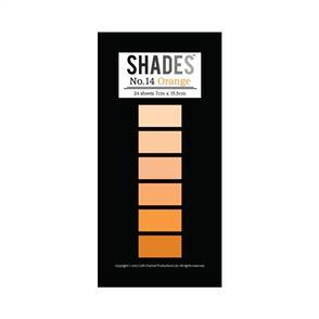 Shades Mini Paper Pad - Orange