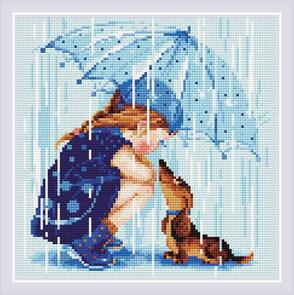 Riolis Diamond Mosaic Under My Umbrella Kit