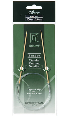 Clover Circular Tapered Tips - 100cm