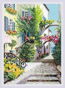 Riolis  Diamond Mosaic Kit - The Italian Courtyard