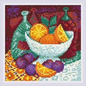 Riolis Diamond Mosaic Oranges Kit