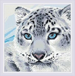 Riolis  Diamond Mosaic Kit - Snow Leopard
