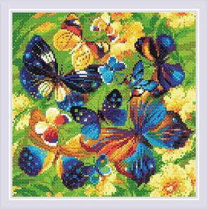 Riolis  Diamond Mosaic Kit - Bright Butterflies