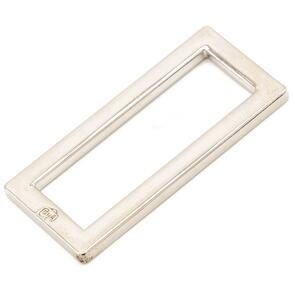 """ByAnnie 1-1/2"""" Rectangle Ring - Flat, Set of Two"""