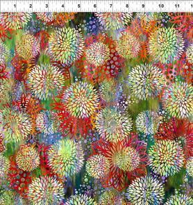 In the Beginning Fabrics  Floragraphix V by Jason Yenter - 3FGE-1