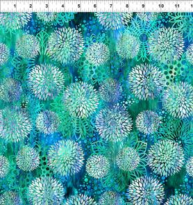 In the Beginning Fabrics  Floragraphix V by Jason Yenter - 3FGE-2