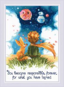 Riolis  Cross Stitch Kit - The Little Prince