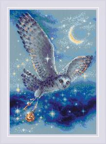 Riolis  Cross Stitch Kit - Magic Owl
