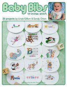 Leisure Arts  Baby Bibs To Cross Stitch