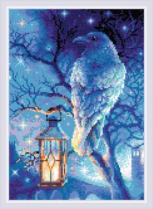 Riolis  Diamond Mosaic Kit - Wise Raven
