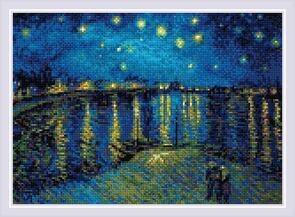 Riolis  Diamond Mosaic Kit - Starry Night Van Gogh