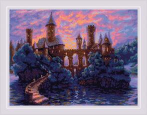 Riolis  Cross Stitch Kit - Mysterious Castle