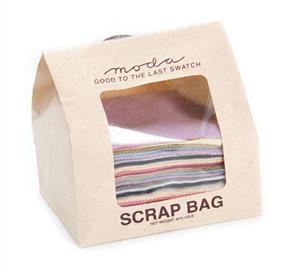 Moda  Scrap Bag - Woven Wool Fabrics