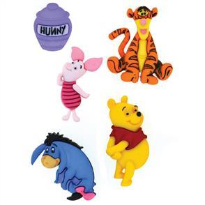 Dress It Up  Licensed Embellishments - Disney Winnie the Pooh