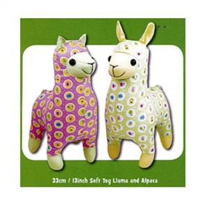 Funky Friends Factory Lloyd Llama & Alice Alpaca Soft Toy Sewing Patterns