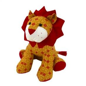 Funky Friends Factory Larry the Lion Soft Toy Sewing Pattern