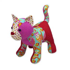 Funky Friends Factory  Patch the Pussycat Soft Toy Sewing Pattern