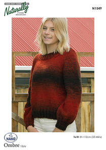 Naturally  Bell Sleeve Sweater - N1549